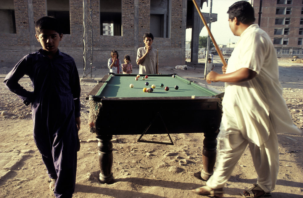 Snooker Game, Rawalpindi, Pakistan