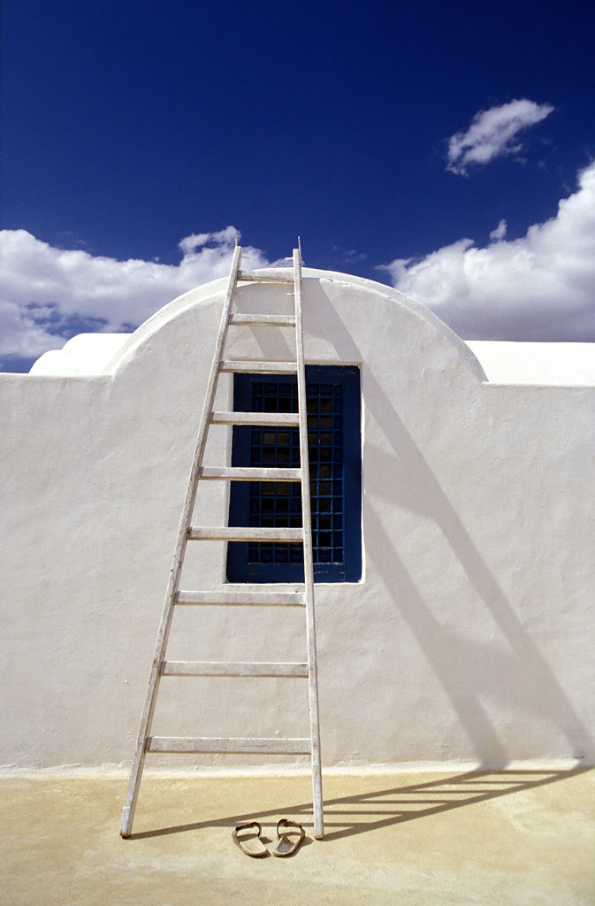 Ladder & Slippers, Tunisia